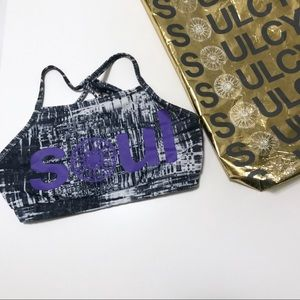 BUNDLE! Soulcycle Sports Bra & Gold Reusable Tote